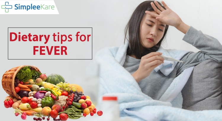 Dietary tips for fever