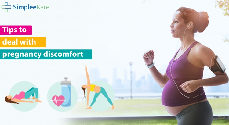 Tips to deal with pregnancy discomfort