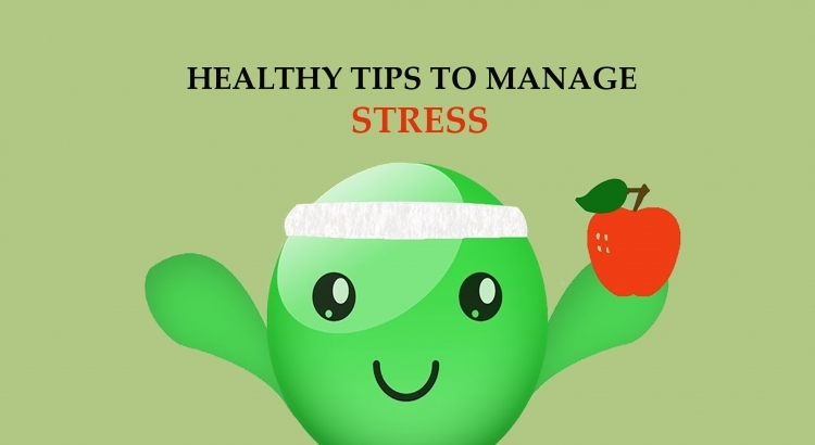 Healthy ways to deal with stress
