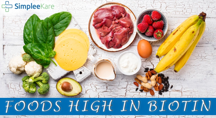 FOODS HIGH IN BIOTIN