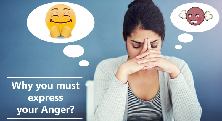 Why you must express your anger??