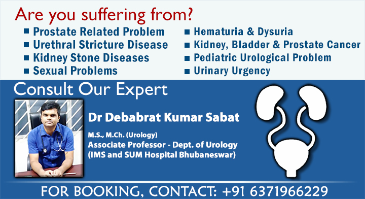 Urology Consultation on Every Mon- Sat  at SimpleeKare Clinic, BBSR